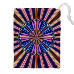 Artwork Fractal Geometrical Design Drawstring Pouch (xxxl)
