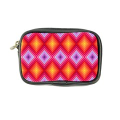 Texture Surface Orange Pink Coin Purse
