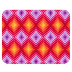Texture Surface Orange Pink Double Sided Flano Blanket (medium)  by Mariart