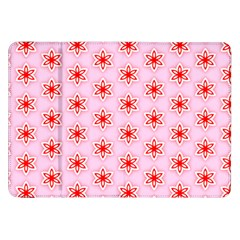 Texture Star Backgrounds Pink Samsung Galaxy Tab 8 9  P7300 Flip Case by HermanTelo