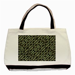 Modern Abstract Camouflage Patttern Basic Tote Bag by dflcprintsclothing