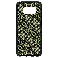 Modern Abstract Camouflage Patttern Samsung Galaxy S8 Black Seamless Case by dflcprintsclothing