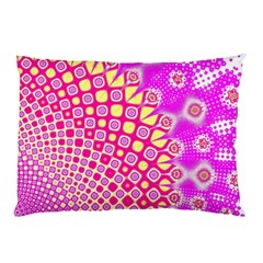 Digital Arts Fractals Futuristic Pink Pillow Case (two Sides)