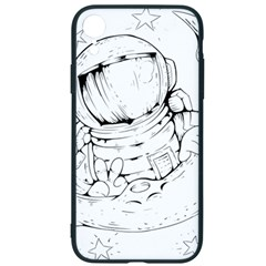 Astronaut Moon Space Astronomy Iphone Xr Soft Bumper Uv Case