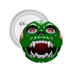 Monster Mask Alien Horror Devil 2 25  Buttons by Bejoart