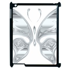 Butterfly Iridescent Chromatic Prismatic Apple Ipad 2 Case (black)