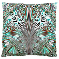 Crystal Design Crystal Pattern Glass Large Cushion Case (one Side) by Pakrebo