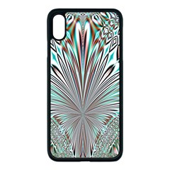 Crystal Design Crystal Pattern Glass Iphone Xs Max Seamless Case (black) by Pakrebo