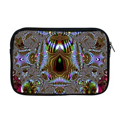 Art Artwork Fractal Digital Art Apple Macbook Pro 17  Zipper Case