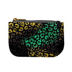 Modern Abstract Animal Print Mini Coin Purse