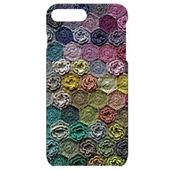Crochet Pattern Iphone 7/8 Plus Black Uv Print Case by designbywhacky