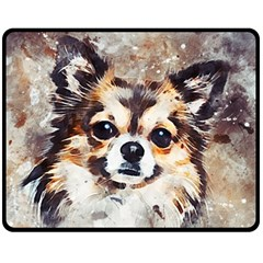 Chihuahua Dog Cute Pets Small Fleece Blanket (medium)