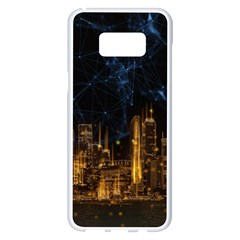 Architecture Buildings City Samsung Galaxy S8 Plus White Seamless Case