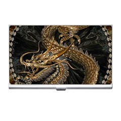 Fantasy Dragon Pentagram Business Card Holder