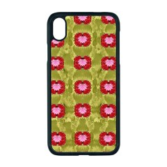 Happy Floral Days In Colors Iphone Xr Seamless Case (black) by pepitasart