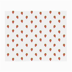 Cartoon Style Strawberry Pattern Small Glasses Cloth (2 Sides)
