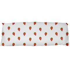 Cartoon Style Strawberry Pattern Body Pillow Case Dakimakura (two Sides) by dflcprintsclothing