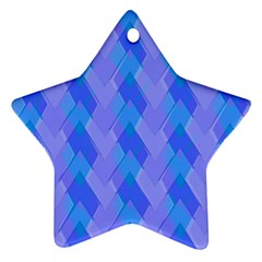 Pastelargyle Star Ornament (two Sides) by designsbyamerianna