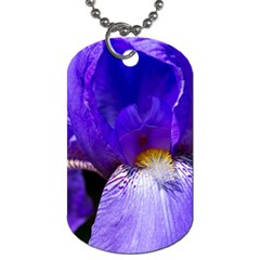 Zappwaits Flower Dog Tag (One Side)