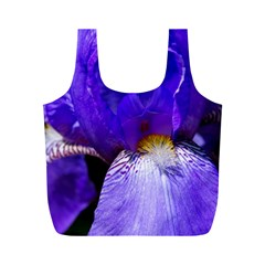 Zappwaits Flower Full Print Recycle Bag (M)