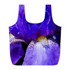 Zappwaits Flower Full Print Recycle Bag (L)