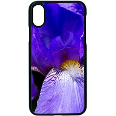 Zappwaits Flower iPhone X Seamless Case (Black)