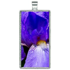 Zappwaits Flower Rectangle Necklace