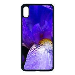 Zappwaits Flower iPhone XS Max Seamless Case (Black)