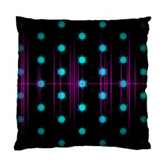 Sound Wave Frequency Standard Cushion Case (two Sides) by HermanTelo