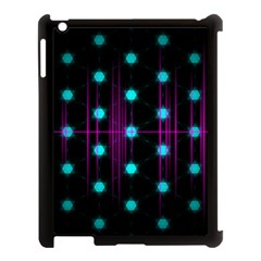 Sound Wave Frequency Apple Ipad 3/4 Case (black) by HermanTelo