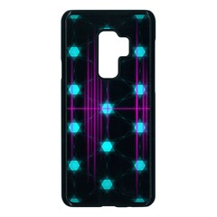 Sound Wave Frequency Samsung Galaxy S9 Plus Seamless Case(black) by HermanTelo