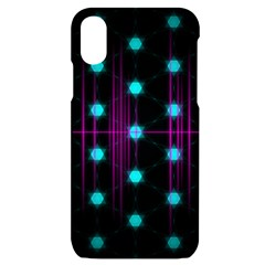 Sound Wave Frequency Iphone X/xs Black Uv Print Case