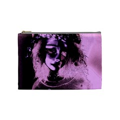 Sad Doll Pink Glow Cosmetic Bag (medium)