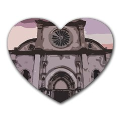 Cathedral Heart Mousepads