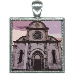 Cathedral Square Necklace by snowwhitegirl