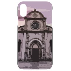 Cathedral Iphone Xr Black Uv Print Case by snowwhitegirl