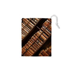 Books Bookshelf Classic Collection Drawstring Pouch (xs)