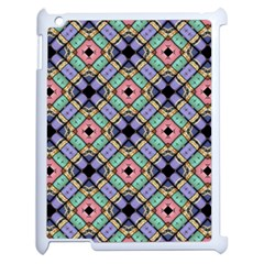 Pattern Wallpaper Background Abstract Geometry Apple Ipad 2 Case (white) by Wegoenart