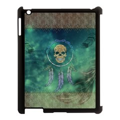 Dreamcatcher With Skull Apple Ipad 3/4 Case (black)