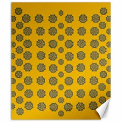 Sensational Stars On Incredible Yellow Canvas 20  X 24  by pepitasart
