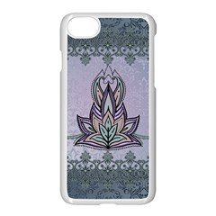 Abstract Decorative Floral Design, Mandala Iphone 7 Seamless Case (white) by FantasyWorld7