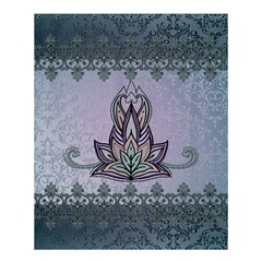 Abstract Decorative Floral Design, Mandala Shower Curtain 60  X 72  (medium)  by FantasyWorld7