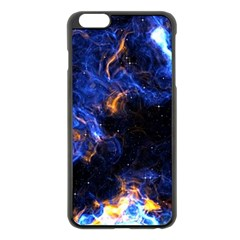Universe Exploded Iphone 6 Plus/6s Plus Black Enamel Case by WensdaiAmbrose