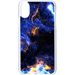 Universe Exploded Iphone Xs Seamless Case (white) by WensdaiAmbrose