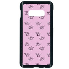 Zodiac Bat Pink Samsung Galaxy S10e Seamless Case (black)