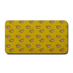 Zodiac Bat Pink Yellow Medium Bar Mats by snowwhitegirl