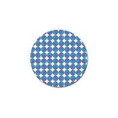 Geometric Dots Pattern Golf Ball Marker (10 Pack) by Jojostore