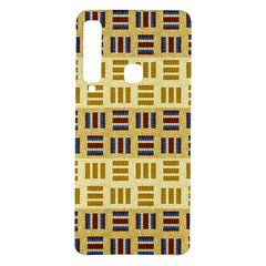 Texture Fabric Material Samsung Galaxy A9 Tpu Uv Case by AnjaniArt