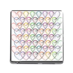 Valentine Hearts Memory Card Reader (square 5 Slot)