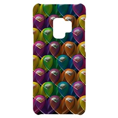 Valentine Hearts Samsung S9 Black Uv Print Case